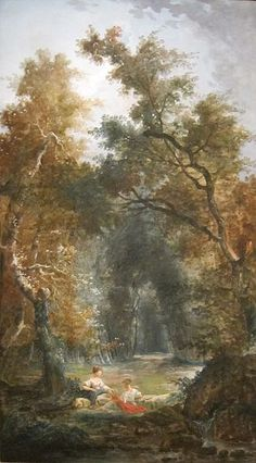 The Glade (c. 1775) - Hubert Robert