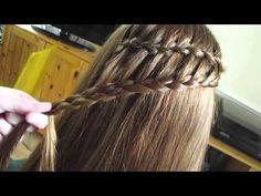 ▶ Ladder Braid   rosdoesmyhair tutorial - YouTube