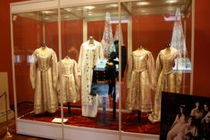 The court attire of the Imperial family ondisplayat theAlexanderPalace (1910)