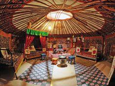 Mongolian Yurt Interior   Mongolian Interior Design   R-Incarnation