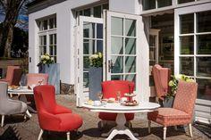 terrace at 1611 Restaurant in Dwor Oliwski CITY HOTEL & SPA