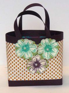 Bag in a Box using A4 Card