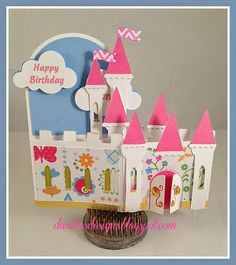 Danita's Designs!!! : Castle Card in a Box