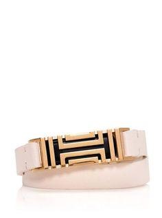 Tory Burch Fitbit Fret Double-Wrap Bracelet