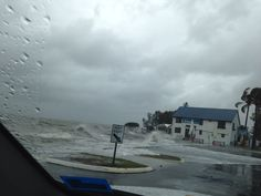 Crazy weather at Cleveland point 2012