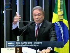 Alvaro Dias avalia primeiro semestre do novo mandato da presidente Dilma