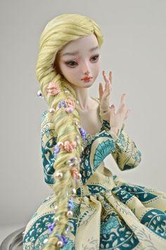 Enchanted Doll by Marina Bychkova, OOAK resin BJD