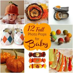 Fall Photo Props for baby