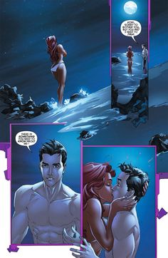 Jason and starfire should've end up together but in the end they just friend zone each other.