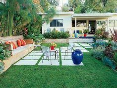 mid century backyard ideas - Google Search