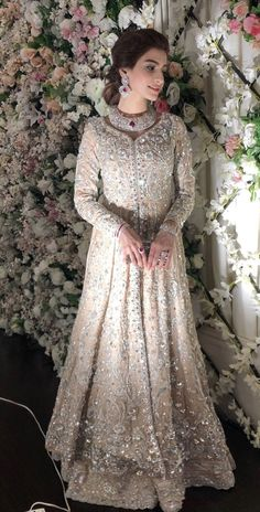 Hottest Free of Charge Bridal Dresses pakistani Popular Regardless of whether you've been thinking of the wedding dress considering you're 5 and underst Asian Wedding Dress, Muslim Wedding Dresses, Pakistani Wedding Outfits, Bridal Outfits, Bridal Gowns, Wedding Hijab, Indian Bridal Lehenga, Pakistani Wedding Dresses, Indian Dresses