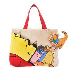 Winnie-the-Pooh & Friends Canvas Tote Bag