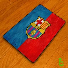 Barcelona blue red surface Blanket