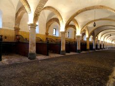 Royal Stables Cordoba Spain 1517 built by King  Felipe II to house the best Andalusian horses in the foundation of the breed.