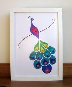 Jumbleberries: The Paper Peacock