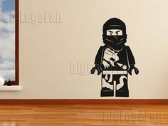 Oh my! Etsy shop BigLegoFan has a bunch of Lego themed wall decals. May have to surprise the boys with a few of these in the rec room.