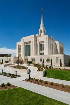 Ogden Utah Temple.  I attended the open house in August when visiting our son.  The Temple's remodel is beautiful.