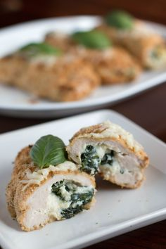 Hot, crisp, and packed full of protein and flavor. These stuffed turkey roll ups are going to become a staple in my weekly meal plans. They're so versatile because you can change the filling each week so you never get bored! #Sponsored