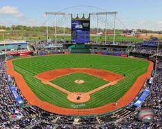 Kauffman Stadium, home of the Kansas City Royals