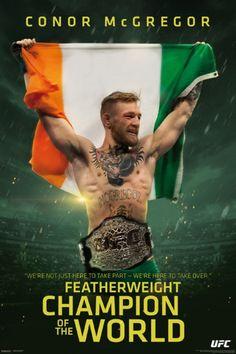 UFC - Conor McGregor - Champ Poster Print (24 x 36) - Item # PYRPAS0881