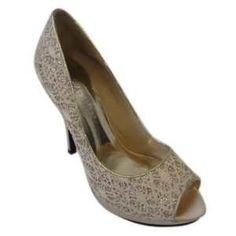 Chaussures à talon soirée pour un look glamour et attrayant avec un magnifique talon aiguille. Dessus et semelles en simili cuir et semelle antidérapante. Elles sont disponibles en 4 couleurs (doré,bleu,argent,noir)