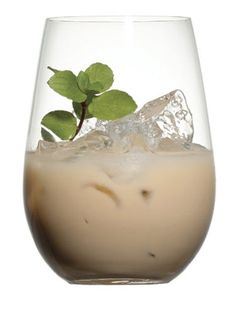 Naughty Girl Scout  2 oz. Kahlúa 1 oz. Crème de Menthe 1 oz. half and half  Fill a cocktail shaker with ice. Add all ingredients and shake w...