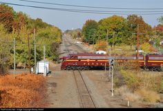 RailPictures.Net Photo: PRR 5711 Pennsylvania Railroad EMD E8(A) at Port Reading, New Jersey by Bobby Allard