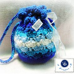 Blue waves pouch - Media - Crochet Me