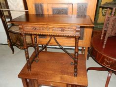 """Strong... Silent and Spectacular! Look Here!  """"H. Krug"""" Console"""