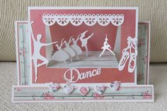 A Passion For Cards: Dance stage card - TUTORIAL