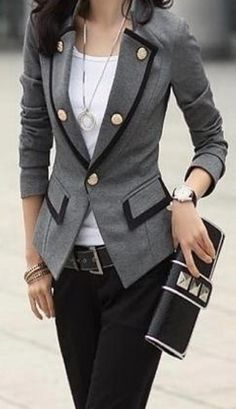 Here is another outfit that I would wear to work. It's very put together and clean. You always need a watch (to stay on time of course) and a purse. To keep your everyday items in, such as, your favorite color of lipstick, mints/gum, a pen/pencil, lotion, and etc.