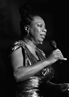 NINA SIMONE What Happened Miss Simone, Civil Rights Activists, Nina Simone, Civil Rights Movement, Jazz Blues, African American Women, Her Music, American Singers, Mississippi