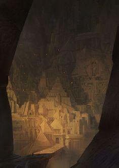 Enoch City by Marc SIMONETTI | Fantasy | 2D | CGSociety
