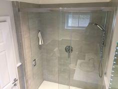 Grace sliding door enclosure by Mistley Bathroom Glass