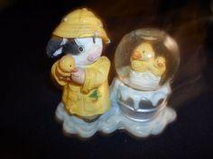 "Mary's Moo Moos I'M So Lucky You're My Ducky Small Water Globe 4 x3 1 2"" | eBay"