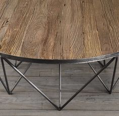 Tribeca Round Coffee Table | Coffee Tables | Restoration Hardware