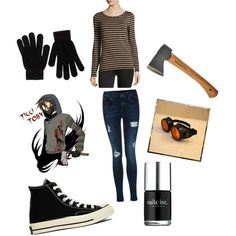 Ticci Toby creepypasta outfit by ender1027 on Polyvore