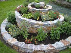 Kräuterschnecke, Herbs garden DIY