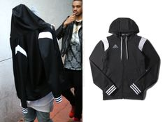 adidas Crazy Ghost Jacket in Black/White - $65.00 Available here.