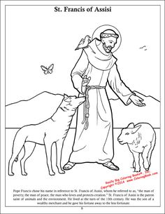 Coloring Books | Pope Francis Coloring & Activity Book