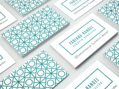 TROPICO | FABIANA RANGEL • Concept of the brand and business card design for the…