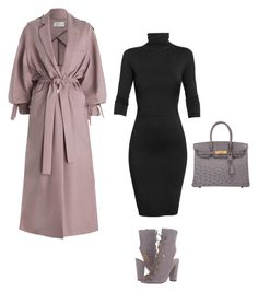 """""""Untitled #199"""" by abarzani-1 ❤ liked on Polyvore featuring Zimmermann, Undress, GUESS and Hermès"""