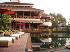 The Governor's Residence. Yangoon. Myanmar.