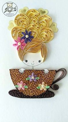 40 Creative Paper Quilling Designs and Artworks 40 Creative Paper Quilling Designs and Graphics Paper Quilling Tutorial, Paper Quilling Cards, Paper Quilling Jewelry, Paper Quilling Patterns, Origami And Quilling, Quilled Paper Art, Neli Quilling, Quilling Work, Quilling Paper Craft