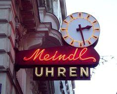sign in Vienna, Austria