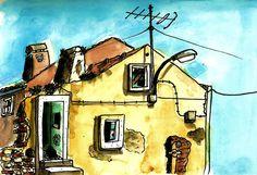 teresa ruivo: Casa abandonada algures na Ajuda