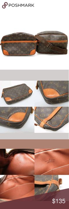 Louis Vuitton This listing is for the Louis Vuitton Compiegne toiletries bag only. It's in good condition. Perfect to store cosmetics or toiletries. There are 2 side pockets inside. 100% authentic Louis Vuitton. Louis Vuitton Bags Cosmetic Bags & Cases