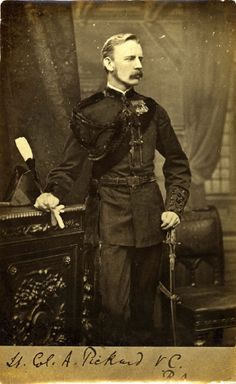 Arthur Frederick Pickard VC was promoted to the rank of Colonel and created a Companion of the Order of the Bath. He was appointed Equerry to the Duke of Connaught and later the Queen. He died of tuberculosis at age 35 in France.