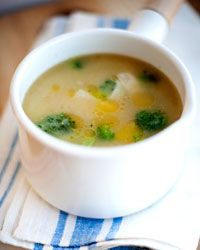 Potato-and-Broccoli Soup Recipe from Food & Wine