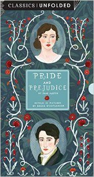 Pride and Prejudice Unfolded: One of the world's greatest stories unfolded in 14 scenes. by Becca Stadtlander. Rock Point, May 2015. Series: Classics Unfolded Hardcover: 16 pages. EA.